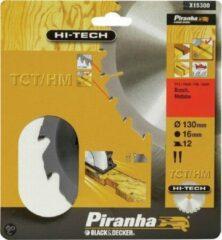 Piranha Cirkelzaagblad TCT/HM, 130x16mm 12 tanden X15300