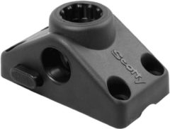 Zwarte Scotty Side/Deck Mounting Bracket Locking Black