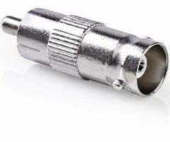 S-Impuls BNC (v) - Tulp RCA (m) adapter