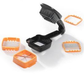 Genius Nicer Dicer Quick 5-in-1 snijdmachine zwart/oranje 5-delig