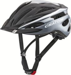 CRATONI 112001C2 Fahrradhelm Pacer (Kid) Gr. S/M (54-58cm), schwarz/weiß/matt (1 Stück)