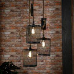 Grijze Easy Furn Hanglamp Melanie - Tripel