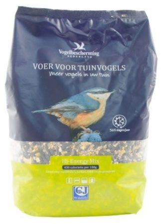 Afbeelding van Vogelbescherming Nederland Wildbird Vogelvoeder Hi-Energy Mix 4 l