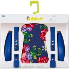 Widek - Qibbel Luxe Stylingset voor Voorzitje - Blossom Roses Blauw
