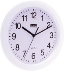 Witte Balance Wall Clock 25 cm Analogue White
