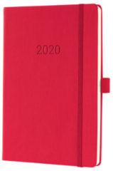 !weekagenda Sigel Conceptum A5 rood, 192 blz., 80 g 2 Pagina's = 1 Week