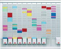 Nobo T-Kaart Planningset Jaarplanner 13 Kolommen 54 Sleuven (2911200)