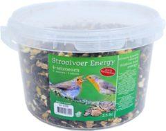 Boon Vier seizoenen strooivoer in emmer 2,5 liter - Winter vogelvoer/dierenvoer