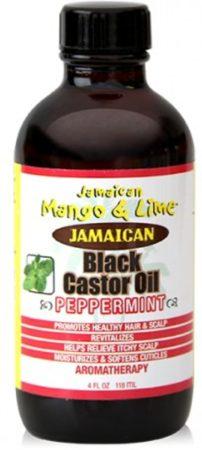 Afbeelding van Jamaican Mango Lime Jamaican Mango & Lime Black Castor Oil Pepermint 118 ml