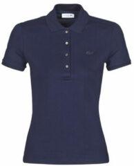 Blauwe Polo Shirt Korte Mouw Lacoste PH5462 SLIM