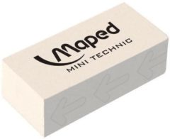 Witte Maped Office Maped gum Technic 300 verpakt onder cellofaan in een doos