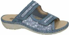 Remonte -Dames - blauw - slipper - muiltje - maat 38