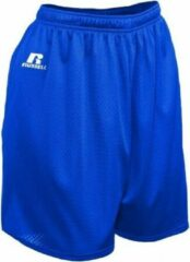 Blauwe Russell Athletic 9 inch Nylon Tricot Mesh Short - Royal - X-Large
