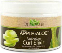 Taliah Waajid - groen Apple & Aloe - Nutrition - Curl Elixir- Krullen Creme - 355ml