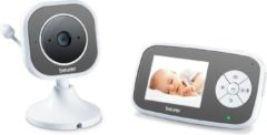 Witte Beurer BY110 - Babyfoon met camera + XL ouderunit - Eco+