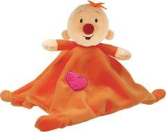Oranje Studio 100 Bumba knuffeldoekje Babilu knuffeldoekje