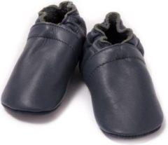 Baby Dutch Babyslofjes effen blauw