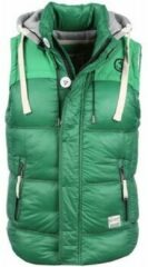 Vest Yole Bodywarmer Groen met capuchon