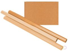 Bruna Inpakpapier Kraft gestreept 60gr 100cmx10m op rol