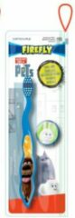 Blauwe Firefly Pets tandenborstel inclusief borstel beschermkap