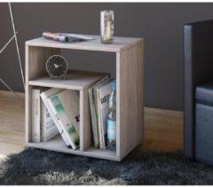 Beistelltisch Nachttisch Kaffeetisch Nachtkonsole Couchtisch Wohnzimmertisch 'Zeito' VCM Sonoma-Eiche