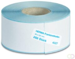 Herma 4327 frankeer-etiketten op rol 131,85x36 200 st.