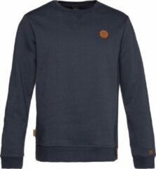 Blauwe NXG by Protest Sweater NAGASAKI Heren Trui Maat S