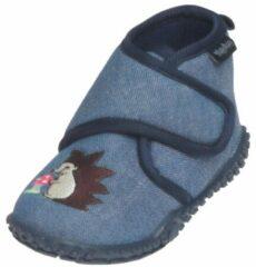 Blauwe Playshoes Unisex Sloffen Maat 18