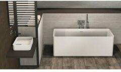 Ideavit Solidthin 160 vrijstaand bad 160x70cm Solid surface mat wit 290033