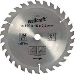 Wolfcraft 6730000 Hardmetaal-cirkelzaagblad 130 x 16 mm Aantal tanden: 18 1 stuk(s)