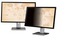 """3M Blickschutzfilter für 24"""" Breitbild-Monitor - Bildschirmfilter - 61 cm Breitbild (Breitbild mit"""