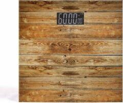 Livoo Elektronische Personenweegschaal Wooden Design