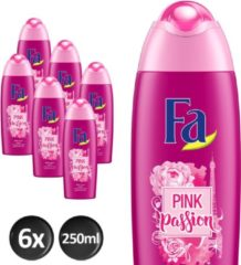 Fa Douchegel Pink Passion - 6x 250 ml - Voordeelverpakking - Douchegel