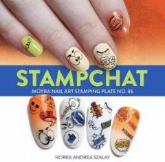 Moyra Nail Art Stamping Plate 86 - Stampchat