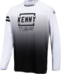 Zwarte Kenny Kids Elite Jersey black white