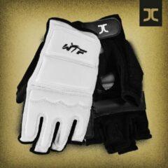 Taekwondo-handbeschermers JC-Club | WT | wit | maat L