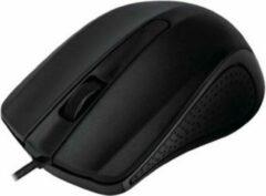 MediaRange Optische 3-button muis USB zwart