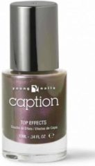 Paarse Young Nails - Caption Caption nagellak Top Effects 017 - Take a chance