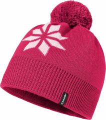 Roze Schöffel - Knitted Hat Nantes3 Muts - Pink Yarrow