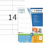 Merkloos / Sans marque HERMA Etiketten Premium A4 wit 105x42 mm Papier 1400 St.