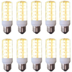Outlight Spaarled E27 3W PL LED CORN (10) Ou. E27-C72LED-3W (10)