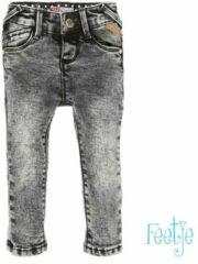 Feetje! Jongens Lange Broek - Maat 68 - Grijs - Katoen/elasthan