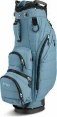 Blauwe BigMax Cartbag Terra Style Bluestone