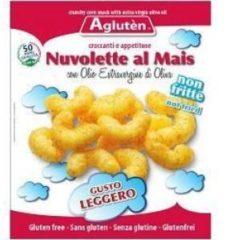 Nove alpi Agluten nuvolette al mais con olio extravergine di oliva merendina senza glutine 45 g