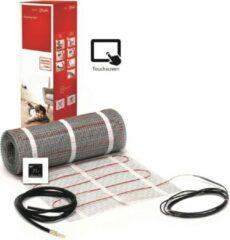 Danfoss ECmat™ 150T elektrische vloerverwarming set met DEVlreg™ Touch 2m², 300w