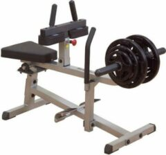 Grijze Commercial Seated Calf Raise Body-Solid GSCR349 - Krachtstation