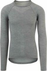 AGU Winterday Thermoshirt Lange Mouwen Essential Unisex Fietsshirt - Maat XXL - Grijs
