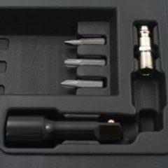 Zwarte VidaXL Pneumatische ratelsleutelset 1/2'' 16-delig