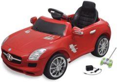 Mercedes-Benz KinderCar Elektrische auto Mercedes Benz SLS AMG rood 6 V met afstandsbediening
