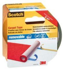3M 42030750 Dubbelzijdig tape voor vloerbedekking Scotch Blauw (l x b) 7 m x 50 mm 1 rol/rollen